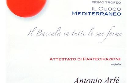 Trofeo Il cuoco Mediterraneo