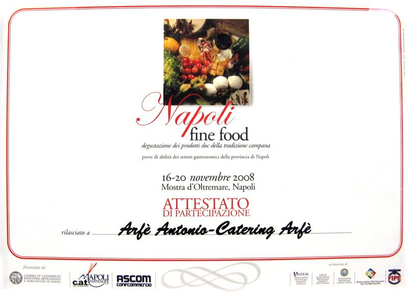 Antonio Arfè Napoli Fine Food