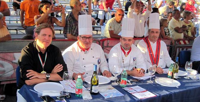 Lo Chef Arfè in giuria per il 12mo Campionato Mondiale del Pizzaiuolo