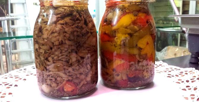 Le speciali Conserve Sott'Olio Gastronomia Arfè
