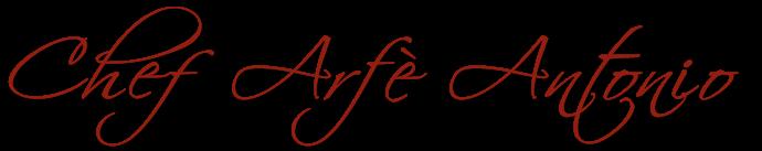 Chef Arfè Antonio