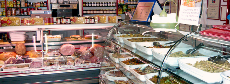 La Gastronomia Arfè - il negozio
